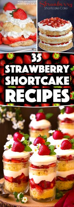 Strawberry Shortcake Recipes