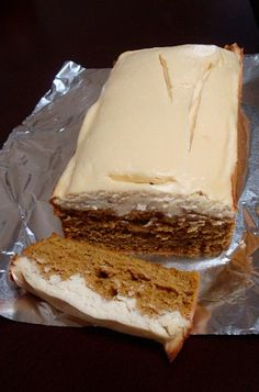 Pumpkin Spice Cheesecake Bread