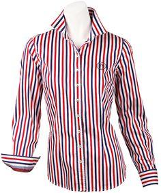 Diese attraktive #Hemdbluse ist ein wichtiges Kleidungsstück für die Damen mit Geschmack.