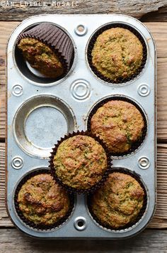 A Juicer's Glorious Morning Muffin, made with leftover pulp from making juice and perfect for Earth Month. @earthboundfarm #nowaste #spon