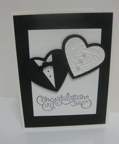 Another wedding card by LorriHeiling - Cards and Paper Crafts at Splitcoaststampers