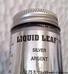 Liquid silver leaf paint                                                       …
