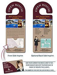 Door hangers will let everyone know about your business