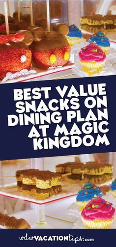 If you are on the dining plan you are going to have to watch what you pick in order to get the value out of the expense. So I am breaking down the highest dollar snacks at the Magic Kingdom you should spend yoursnack credits on. This will help you get the best Disney Dining Plan value snacks at the Magic Kingdom.