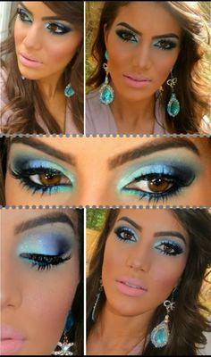 top 10 maquiagens inspiração maquiagem camila coelho super vaidosa beauty stop blog bruna reis makeup Make colorida pro Verao