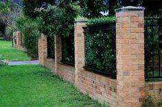 Brick fence | Flickr - Photo Sharing!
