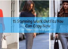 15 Stunning Work Outfits You Can Copy Now Simple Work Outfits, Work Casual, Winter Hairstyles, Pixie Hairstyles, Pixie Haircut, Haircuts, Trajes Business Casual, Work Basics, Cute Skirt Outfits