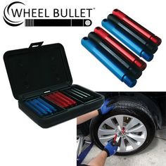 The Wheel Bullets function like guide pins or wheel hangers, allowing the wheel to be easily removed and installed with no risk of dropping the wheel.