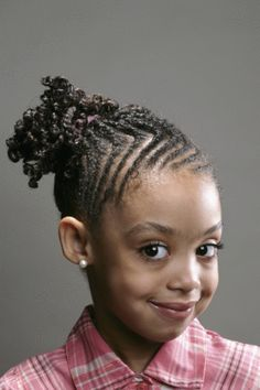 Little Girl Hairstyles African American   Girls Hairstyles for Black Hair