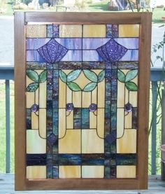 Craftsman Era Stained Glass Windows - Google Search