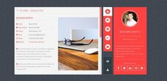 templates wordpress webvisitenkarte