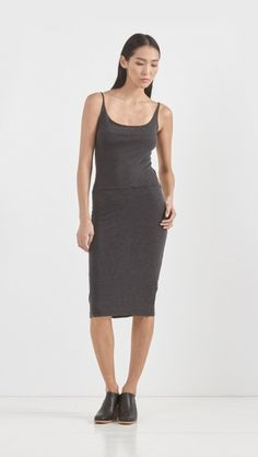 Raquel Allegra // Layering Tank Dress