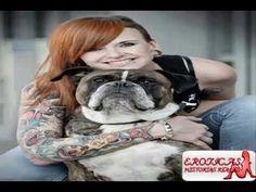 Dog Love is unversal Dream Tattoos, Sexy Tattoos, Tattoos For Women, Cool Tattoos, Tatoos, Animal Tattoos, I Love Dogs, Fur Babies, French Bulldog