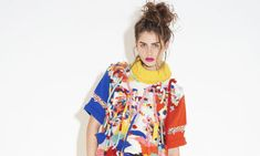 Designs by Naomi Lewis of Nottingham Trent University are among those being showcased at graduate fashion week.  Photograph: Tung Walsh for ...