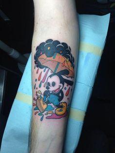 Disney Oswald the lucky Rabbit tattoo