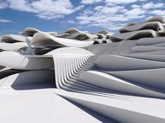 Homes Stacked Like Seashells by Ofir Menachem