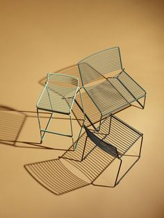 Hee chairs by Hay. Design by Hee Welling.