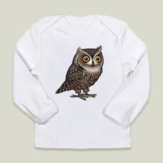 Otus Pocus by Pepetto. Fun Indie Art from BoomBoomPrints.com! https://www.boomboomprints.com/Product/pepetto/Otus_Pocus/Infant_Long-Sleeve_T-Shirts/0-3M_Cloud_White_Infant_Long-Sleeve_T/