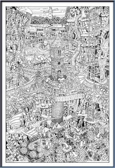 find this pin and more on coloring pages 4 adults by ines_fonseca88 - Lord Of The Rings Coloring Book