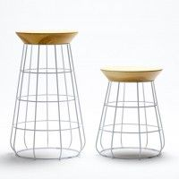 mini me; Sidekick Collection by Timothy John - low stool, tall stool and side table.