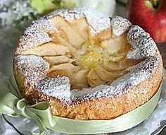 Torta rustica di mele e crema pasticcera