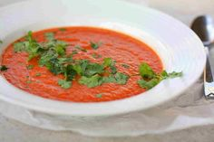 Kusina Master Recipes: Easy Indian Spiced Tomato-Lime Soup