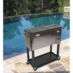 Stainless Steel Cooler  100 Qt.   Samu0027s Club | Gift List | Pinterest |  Stainless Steel, Steel And Decking