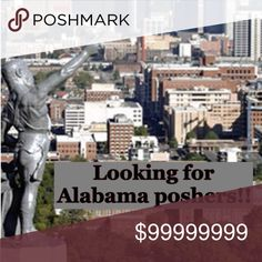 Looking for Alabama poshers!!! Do you live in Birmingham Alabama or surrounding areas?  Comment below!  Let's get ready for our next meet up!!! posh n sip Other
