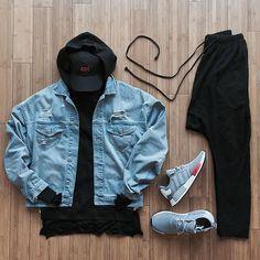 by representtalk - Herren Style Urban Fashion, Trendy Fashion, Fashion Ideas, Fashion Trends, Mode Man, Casual Outfits, Men Casual, Men's Outfits, Casual Styles