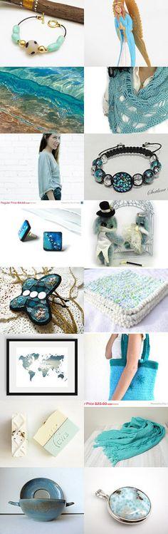 Summer Gifting Ideas by Marlena Rakoczy on Etsy--Pinned with TreasuryPin.com