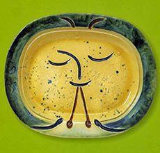 2014.4.5 - 5.18 ピカソの陶芸—地中海にはぐくまれて - 埼玉県立近代美術館 パブロ・ピカソ《笛を吹く人》1947年