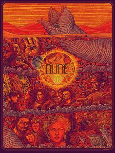 Kevin Tong's Dune poster