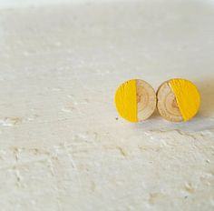 Hey, I found this really awesome Etsy listing at https://www.etsy.com/listing/276459578/wooden-stud-earrings-wooden-jewelry