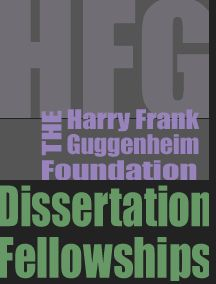 harry guggenheim foundation dissertation fellowships for history