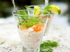 Laxröra med dill och lime   Recept från Köket.se