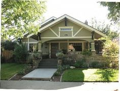 My favorite house style is the Craftsman Bungalow!!! I love all of them! Especially a big front porch with a porch swing.