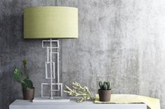 Porta Romana. Wonderfully sculptural Salperton table lamp in decayed silver from Porta Romana – a perfect addition to a contemporary interior. http://www.portaromana.co.uk http://www.angelandblume.com/directory.php
