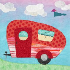 Fantastic Camping Quilt Too Cute  Quilting Amp Sewing  Pinterest
