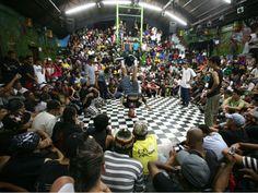 """O Espaço Cultural Beija-Flor recebe no domingo, dia 15 de setembro, o """"Rival vs Rival"""", que vai reunir, música, dança e graffiti. A entrada é Catraca Livre."""