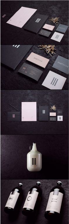 Cool Brand Identity Design on the Internet. Domestico. #branding #brandidentity #identitydesign @ http://www.pinterest.com/alfredchong/brand-identity/