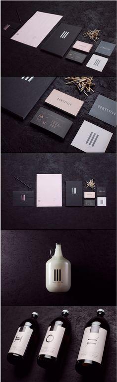 Doméstico | #stationary #corporate #design