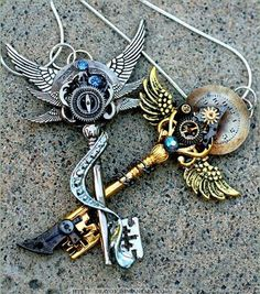I think I'm starting to like this Steampunk stuff. It's kind of like hippie stuf. - I think I'm starting to like this Steampunk stuff. It's kind of like hippie stuff, but with a m - Steampunk Mode, Arte Steampunk, Steampunk Accessoires, Style Steampunk, Steampunk Fashion, Steampunk Wedding, Gothic Fashion, Steampunk Witch, Steampunk Cosplay
