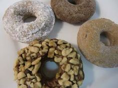 Toppings for Doughnuts (also has the doughnut mix recipe)