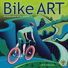 Bike Art Wall Calendar
