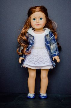 The Joelle Jacket for American Girl and other 18 inch dolls