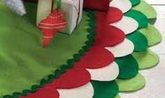 Resultado de imagen para pie de arbol navideño sencillo