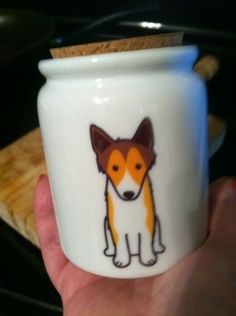 Win your choice of dog breed treat jar!  Visit Dakota's Den to enter!