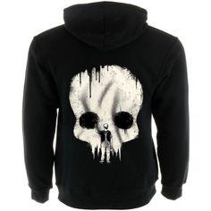 Skull Painter Men's Zip Up Hoodie