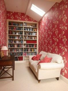 A gorgeous little library in our #Yorkshirepropertyoftheweek -