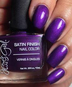 Jesse's Girl Satin Finish Collection.● Amethyst